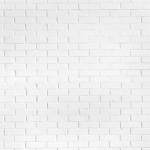 Brick Photo Backdrop - Cloud White Backdrops,Floordrops Loran Hygema