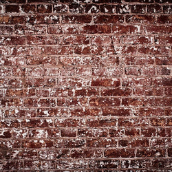 Brick Photo Backdrop - Crimson Patchy Backdrops Loran Hygema