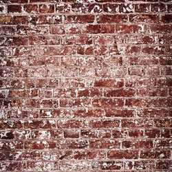 Brick Photo Backdrop - Crimson Patchy Vertical