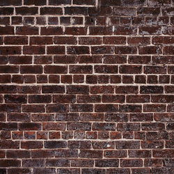 Brick Photo Backdrop - Night Red