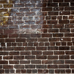 Brick Photo Backdrop - Red & Yellow Grunge