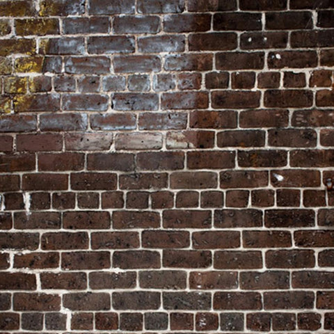 Brick Photo Backdrop - Red & Yellow Grunge Backdrops Loran Hygema