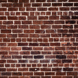 Brick Photo Backdrop Rich Red Traditional