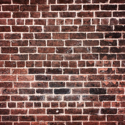 Brick Photo Backdrop - Ruby Red
