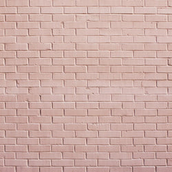Brick Photo Backdrop - Sweet Pink