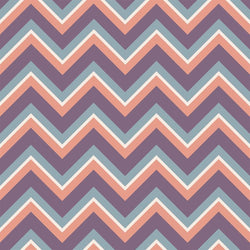 Chevron Photo Backdrop - Aspen Purple