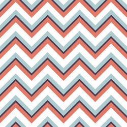 Chevron Photo Backdrop - Aspen White
