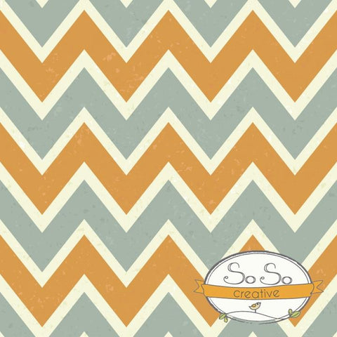 Chevron Photo Backdrop Gray and Burnt Orange Backdrops Loran Hygema