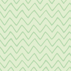 Chevron Photo Backdrop - Les Fauves Green on Green