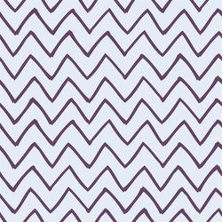 Chevron Photo Backdrop - Les Fauves Purple on Blue