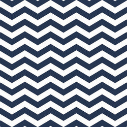 Chevron Photo Backdrop in Navy