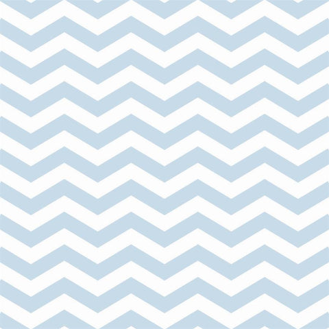 Chevron Backdrop in Sky Blue