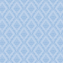 Damask Photo Backdrop - Baby Blue Backdrops Loran Hygema