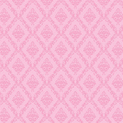 Damask Backdrop Baby Pink