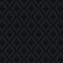 Damask Backdrop Black and Gray