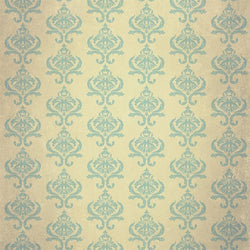 Damask Diva Photo Backdrop - Cream & Blue Backdrops SoSo Creative