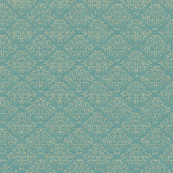 Damask Diva Photo Backdrop - Teal & Cream Backdrops SoSo Creative
