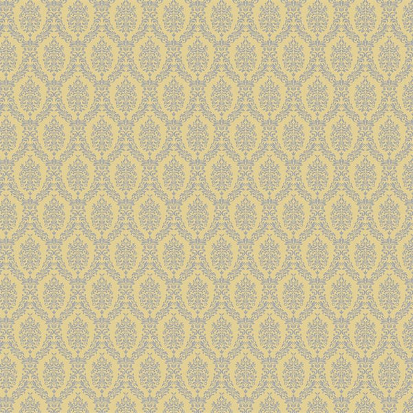Damask Diva Photo Backdrop - Yellow & Gray Backdrops SoSo Creative