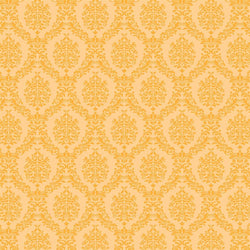Damask Backdrop Light Orange