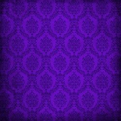 Damask Backdrop Purple Grunge