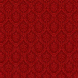 Damask Backdrop Red