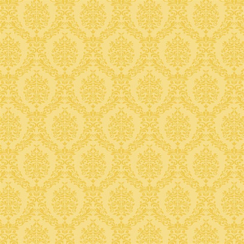 Damask Photo Backdrop - Yellow Backdrops SoSo Creative