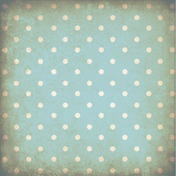 Polka Dot Backdrop Grungy Blue Wallpaper