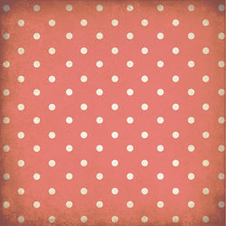 Polka Dot Backdrop Grungy Coral Wallpaper