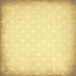 Polka Dot Backdrop Grungy Yellow Wallpaper
