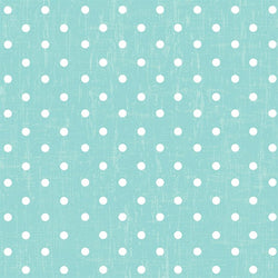 Polka Dot Photo Backdrop - Vintage Blue Wallpaper