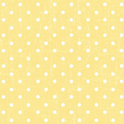 Polka Dot Backdrop Vintage Yellow Wallpaper