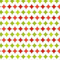 Holiday Backdrop Green and Red Diamond