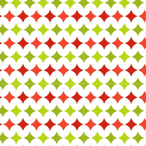 Holiday Photo Backdrop - Green and Red Diamond Backdrops SoSo Creative