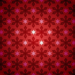 Holiday Photo Backdrop - Red Snowflake
