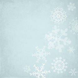 Holiday Photo Backdrop - Snowflakes Backdrops SoSo Creative