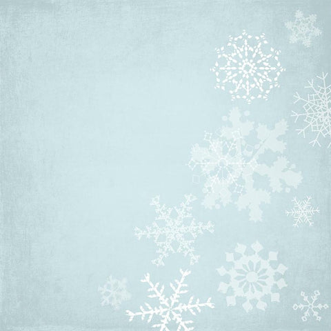 Holiday Backdrop Snowflakes