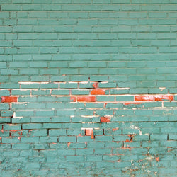 Brick Photo Backdrop - Holiday Wall Horizontal