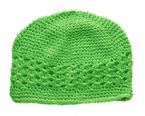 Crochet Hats Hats SoSo Creative Newborn Lime