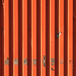 Metal Photography Backdrop - Warm Corrugated Wall