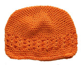 Crochet Hats Hats SoSo Creative Newborn Orange