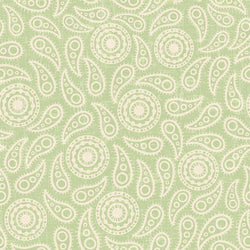 Paisley Backdrop Vintage Green