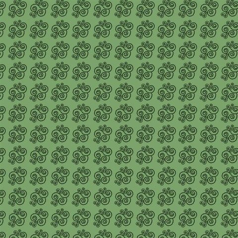 Pattern Photo Backdrop - Candy Swirl in Green Backdrops SoSo Creative