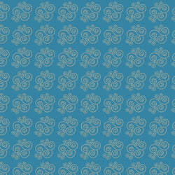 Pattern Photo Backdrop - Candy Swirl in Teal Backdrops SoSo Creative