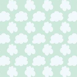 Pattern Photo Backdrop - Cloudy Day