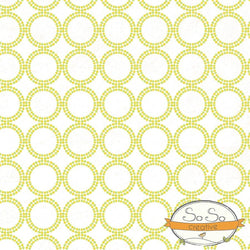 Pattern Photo Backdrop - Dots and Circles Yellow and Green Backdrops SoSo Creative