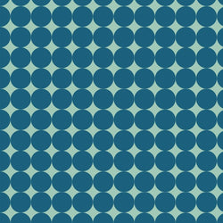 Pattern Photo Backdrop - Dots Lost in Teal