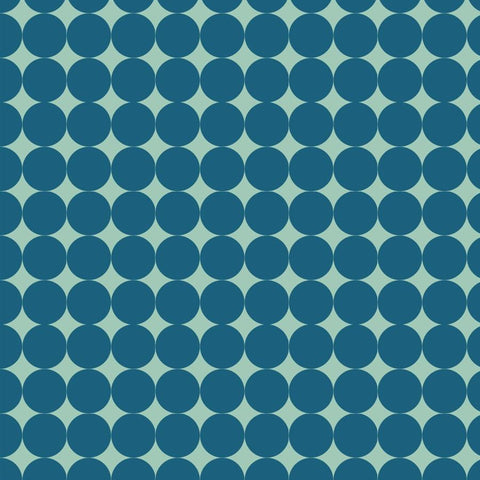 Pattern Photo Backdrop - Dots Lost in Teal Backdrops Rachael Mosley