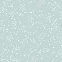 Pattern Photo Backdrop - Dotted Flower Dusty Teal Backdrops SoSo Creative