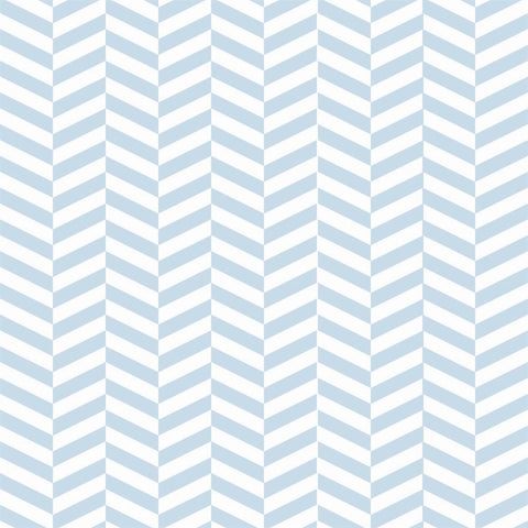 Pattern Photo Backdrop - Herringbone in Sky Blue