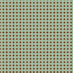 Pattern Photo Backdrop - In-line Circles Brown & Teal Backdrops SoSo Creative